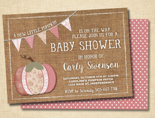 11 Fall Themed Baby Shower Invitations