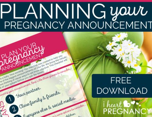 Pregnancy Announcement Planning Checklist Printable Download